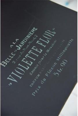 """""""Violette Flor"""": 27 x 20,7 cm"""