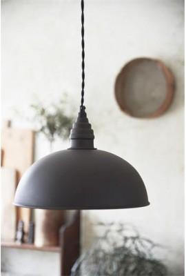 Függő lámpa - 20cm - Patinás fém