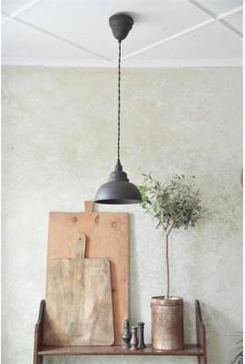 Függő lámpa - 31cm - Patinás fém
