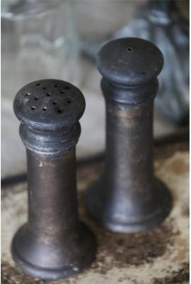 Só-és borsszóró - feket metal patina