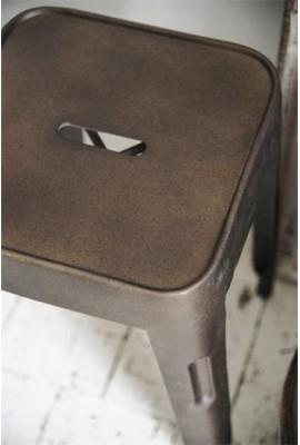 Támlátlan szék ~ rozsda patina