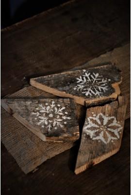 Snowflakes: 27 x 20,7 cm