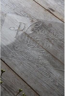 """Chocolat Poulain"": 27 x 20,7 cm"